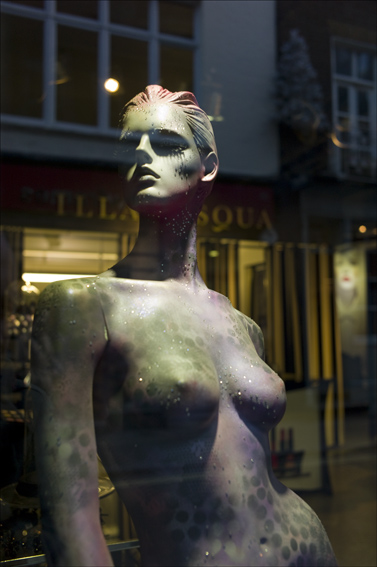 Window mannequin