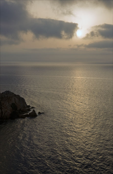 Dawn seascape