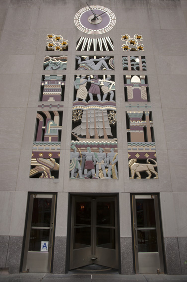 Rockefeller Doorway