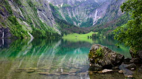 The Obersee (2 mins later obscured by a storm)