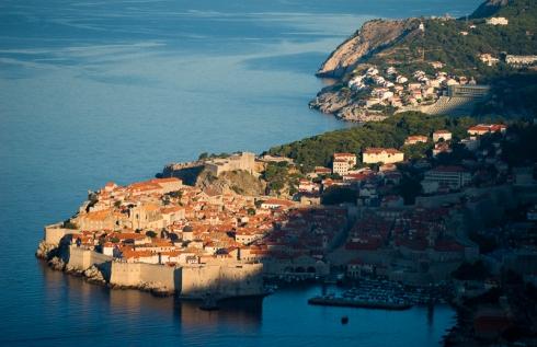 Dawn over Dubrovnik
