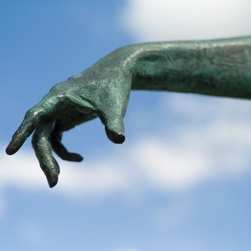Hubris hands...