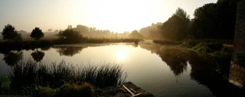 Dawn, near Sturm'ster Newton...