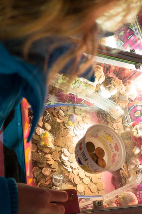 Duaghter taking refuge in a gambling den