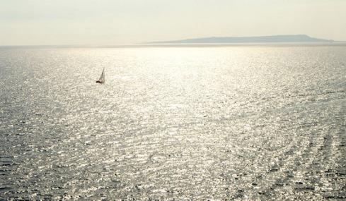 Off the Dorset coast