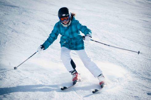 Power skier