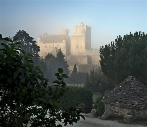 Beynac at dawn