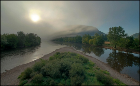 The Dordogne at sunrise
