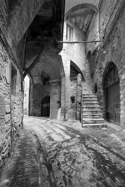 Deserted backstreets
