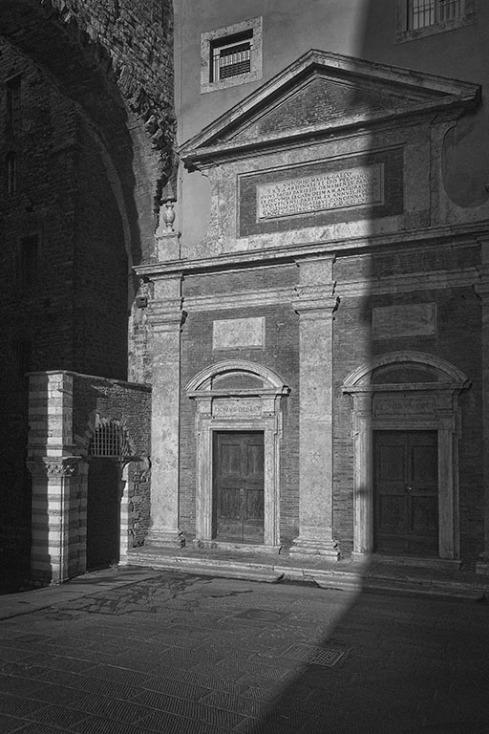 Empty porticoes