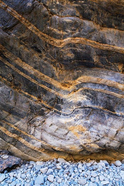 Samaria gorge rock formation