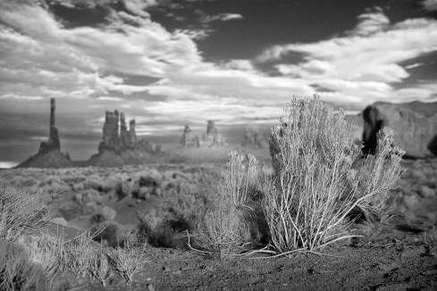 Totem Pole, back in Monument Valley