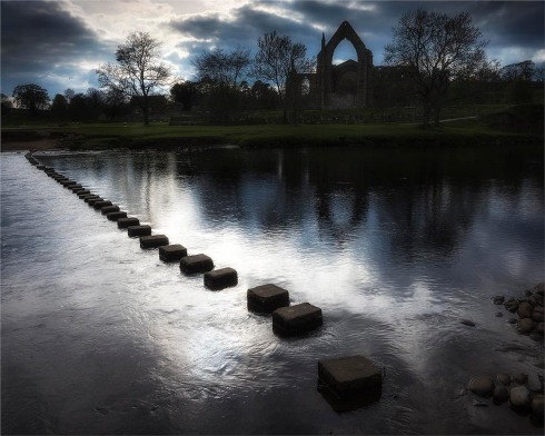 Late afternoon at Bolton Abbey