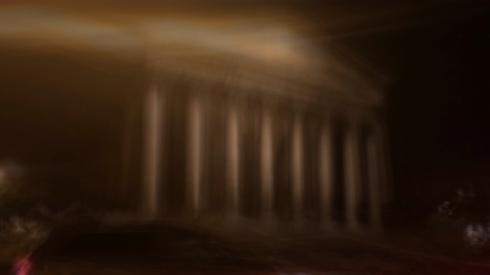 A blur, after midnight.